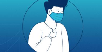 Uso de máscara afeta a saúde bucal?